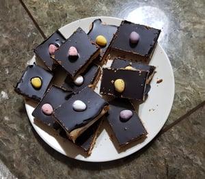 Easter Millionaires Shortbread
