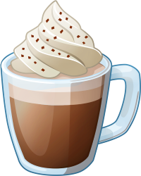 Hot chocolate graphic