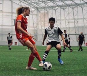 Lauren Purchase Football 1