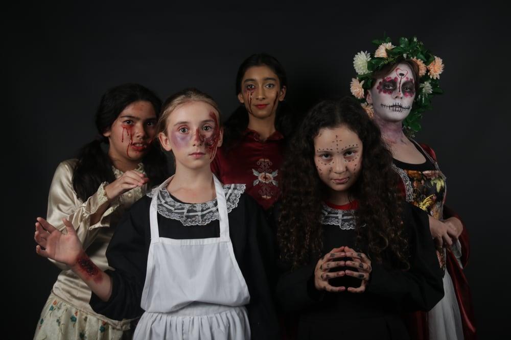 Halloween Stage Make up