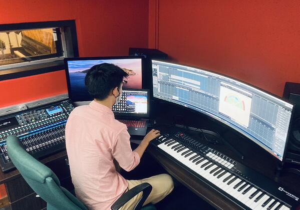 James Composing