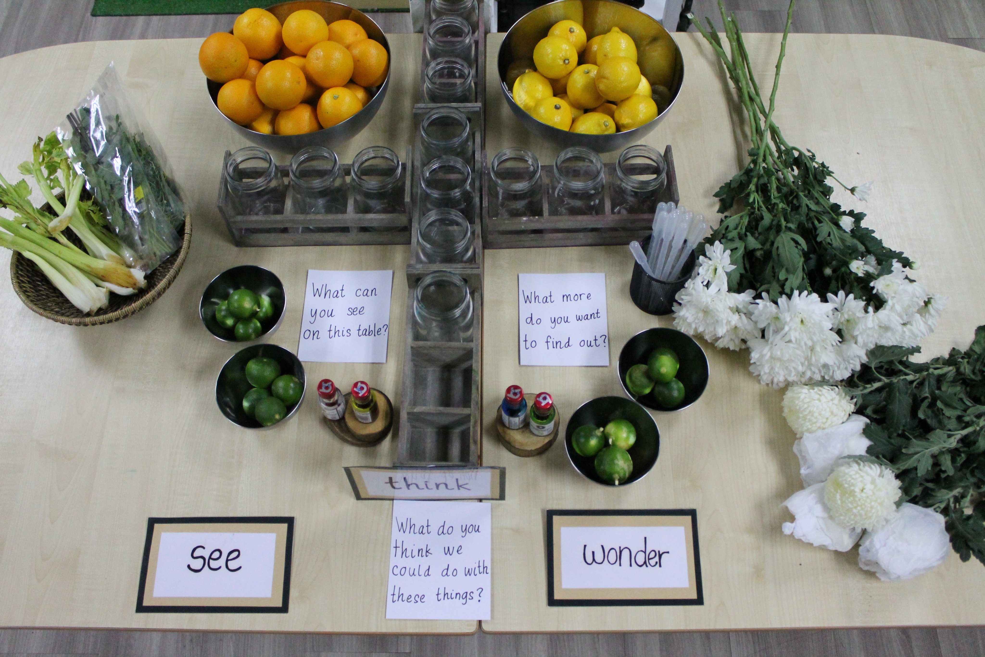 Juicing table
