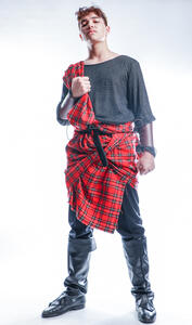 Macbeth standing