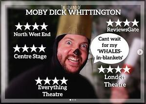 The Legend of Moby Dick Whittington poster