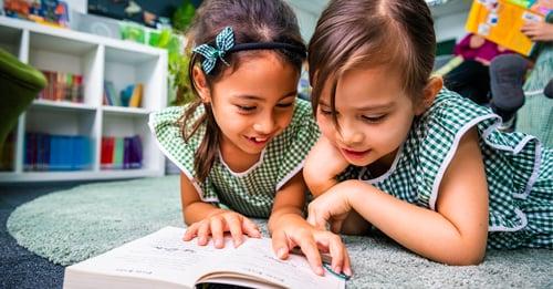 girls reading british international school