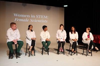 Women in STEM drama event