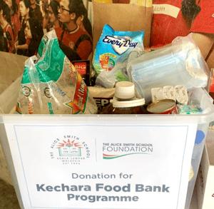 Kechara food box donation