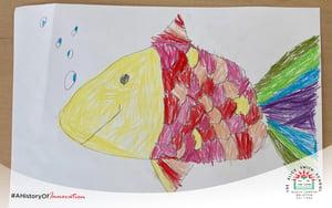 fish drawing_primary school artwork_The Alice Smith School