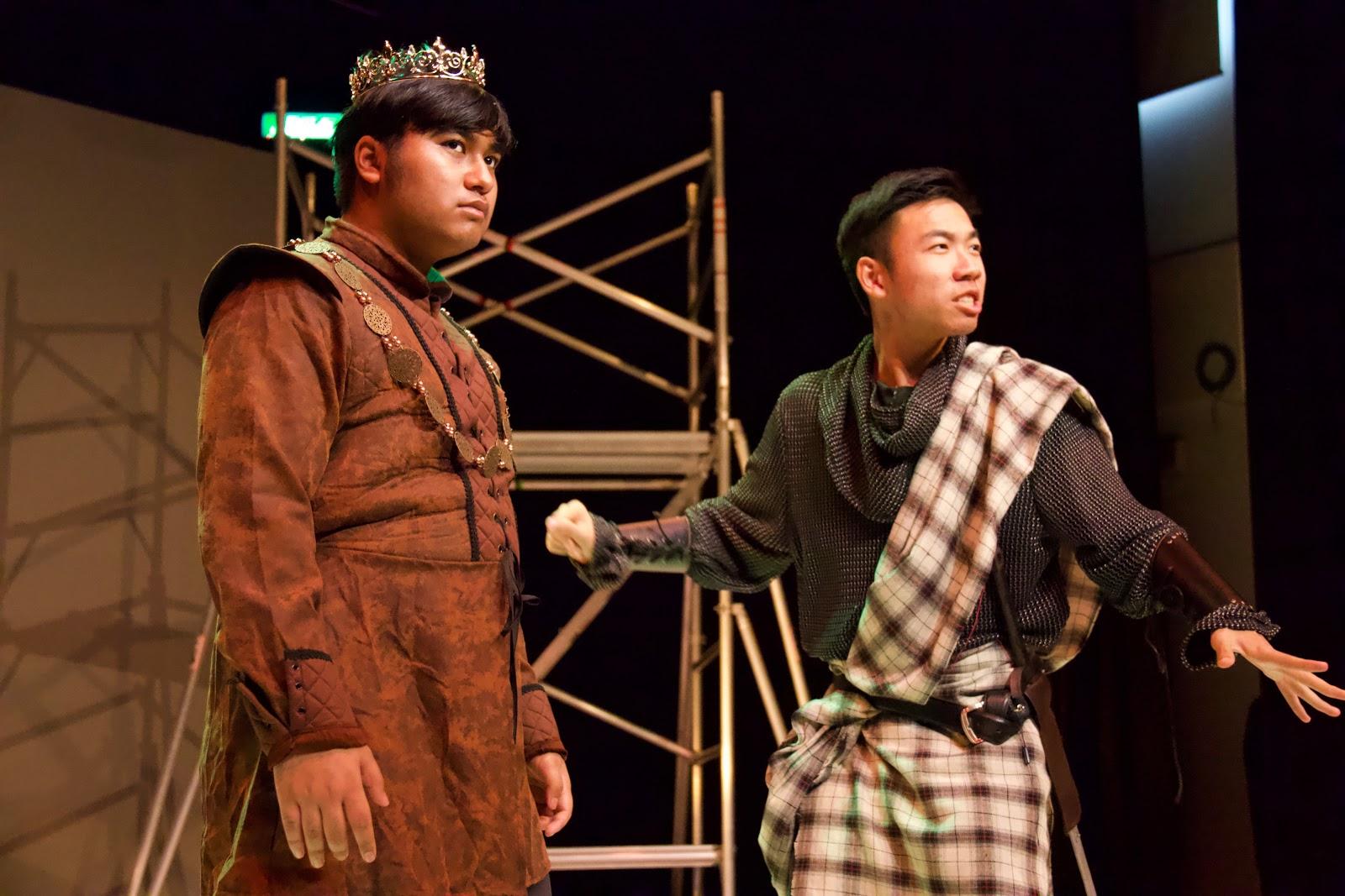 Drama image from Macbeth